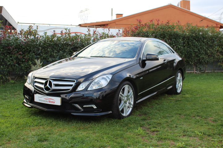 MERCEDES-BENZ E250 CDI AMG COUPE